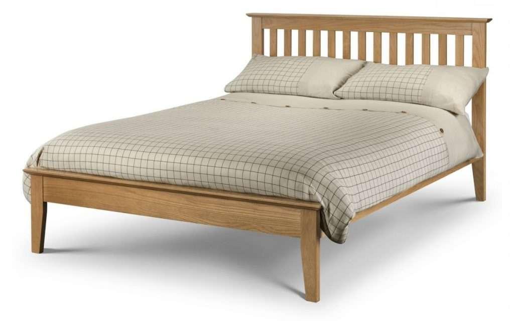 LOVE Solid Oak 5ft King Size Bed L207.5cm x W165cm x H100cm