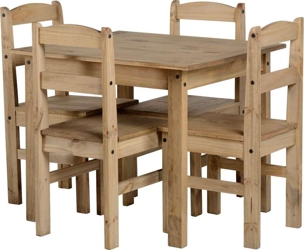 Attirant PAM Solid Pine Dining Table ...