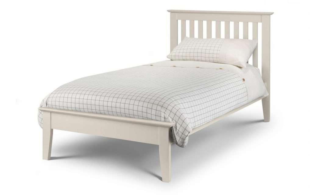 LOVE Stone White 3ft Single Bed L200cm x W104.5cm x H100cm